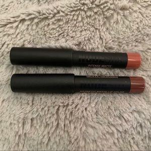 (2) Nudestix Magnetic Matte Lip colors